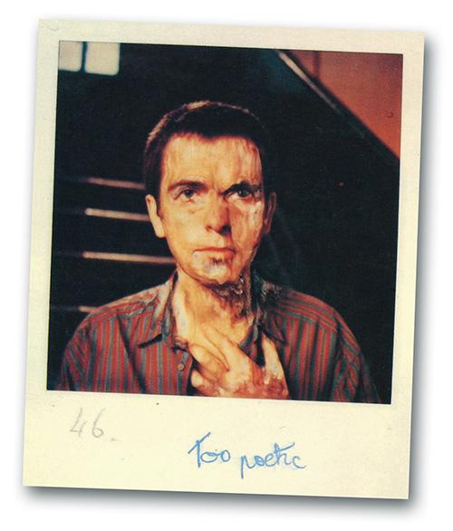 Peter Gabriel Melt Polaroid