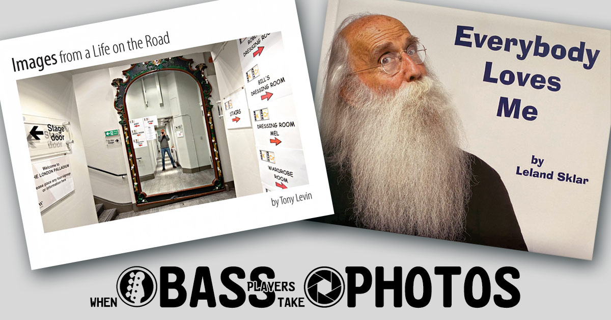 Photo books by TONY LEVIN and LELAND SKLAR